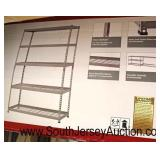 5000 Pound Shelf in Box – missing some parts  Auction Estimate $100-$300 – Located Inside