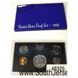 1968 U.S. Proof Set  Auction Estimate $5-$10 – Located Glassware