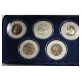 """The Morgan Mint"" 1776-1976 Quarters  Auction Estimate $20-$40 – Located Glassware"