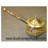 Brass Fire Starter Kettle with Fire Starter  Auction Estimate $20-$50 – Located Glassware