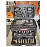 """Husky"" 230 Piece ¼"", 3/8"", ½"" Socket Set with Shallow Sockets and ¼' & 3/8"" Deep Sockets  Auction"