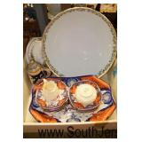 "Box Lot of ""Belleek"" and Other Porcelain China  Auction Estimate $30-$80 – Located Glassware"