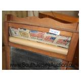 VINTAGE Chalk Board with Scroll of Flags, Birds, and more  Auction Estimate $50-$100 – Located Dock
