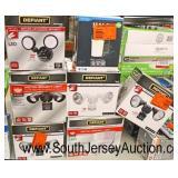 Large Selection of Lighting including: Chandeliers, Flush Mount, Lamps, Motion Sensor, Ceiling, Van