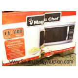 "Counter Top & Above the Oven Microwave Ovens and Digital Air Fryer Ovens  ""Magic Chef"",  ""Black & D"