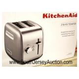 Kitchen Aid 2 Slice Toaster Exceptional for everything from Bagels to Artisian Style Bread  Located
