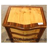 French Style Inlaid and Banded 2 Tone Mahogany 7 Drawer Lingerie Chest  Auction Estimate $100-$300