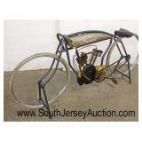"Decorator ""Indian"" Style Motorcycle  Auction Estimate $300-$600 – Located Inside"
