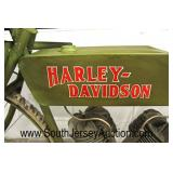 Decorator Harley Davidson Motorcycle Bar  Auction Estimate $200-$400 – Located Inside