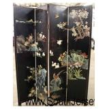 Selection of Asian Decorated Room Screen Dividers  Auction Estimate $100-$300 each – Located Inside