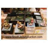"Box Lots of ""Boyd's"" Bear Figurines  Auction Estimate $10-$30 – Located Glassware"