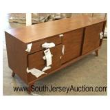 NEW Modern Design 3 Drawer 2 Sliding Door Credenza Buffet  Auction Estimate $200-$400 – Located Ins