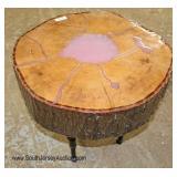 Free Form Live Edge Wood Table