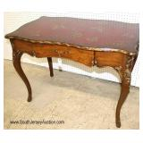"""NICE One Drawer Decorated """"Maitland Smith Furniture"""" Desk"""
