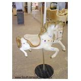 Selection of Decorated Carousel Horses