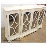 """NEW """"Home Meridian International Furniture"""" Decorator 4 Door Credenza"""