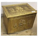 Brass Coal Box Ship Decorations