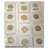 Selection of Silver U.S. Quarters