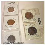 Selection of Large Cents