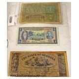Selection of Foreign Paper Money