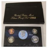 United States Mint 1992 Silver Proof Set