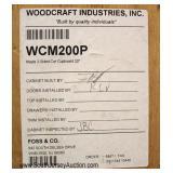 "Pine ""Woodcraft Inc."" Country Corner Cabinet"