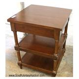 QUALITY Mahogany 3 Tier Stand