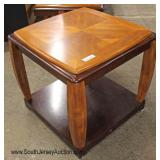 2 Piece Living Room Coffee Table and Lamp Table
