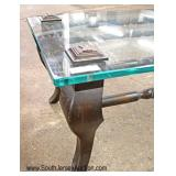Contemporary Glass Top Modern Design Coffee Table