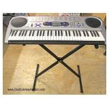 """""""Casio Lighting System"""" Keyboard LK-43 with Stand"""