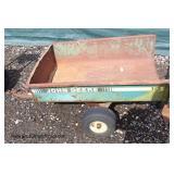 """""""John Deere"""" Single Axle Yard Utility Trailer"""