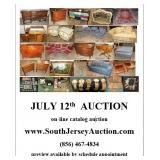 www.SouthJerseyAuction.com  (856) 467-4834 July 12th Sunday Funday NEW JERSEY