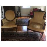 Pair of chairs by John Jelliff
