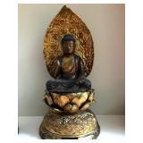 Meiji Buddha on lotus