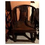 Asian throne chair