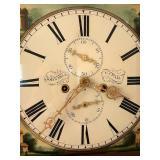 dial of Scottish tall clock