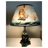 signed Pairpoint lamp