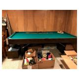pool table by Jordan Co. good condition