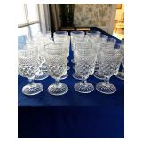 water glasses - great for Holiday table!