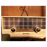 vintage radio, etc