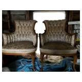 pair of Louis XIV chairs