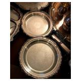 silverplated pie plates