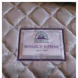 King Size Bed - Monarch Supreme Super Firm Mattress - New Condition