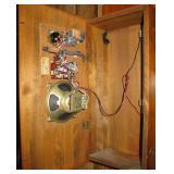 Vintage Wooden Novelty Phone Radio