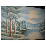 B Rooks Oil Painting on Canvas