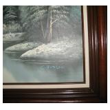 C Hudson Oil Painting on Canvas