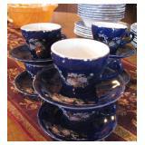 Tea Set - Tea Pot is also a Music Box - Plays Love Story Theme
