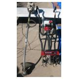 Gas Weed Trimmer - Gas Rototiller