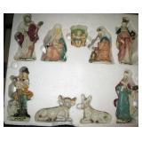 Large Nativity Set New in Box