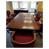 FORT MONMOUTH- EXECUTIVE OFFICE FURNITURE